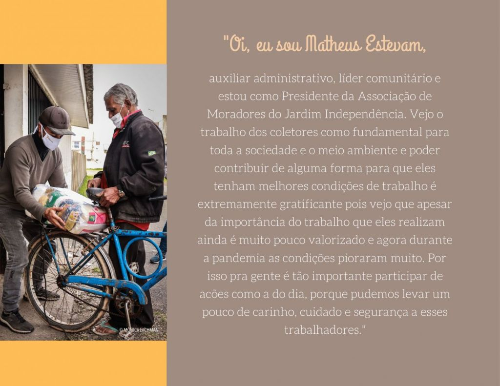 Brochura a Roxo e Pessego com Fotografia 1