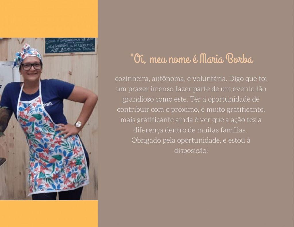 Brochura a Roxo e Pessego com Fotografia 3