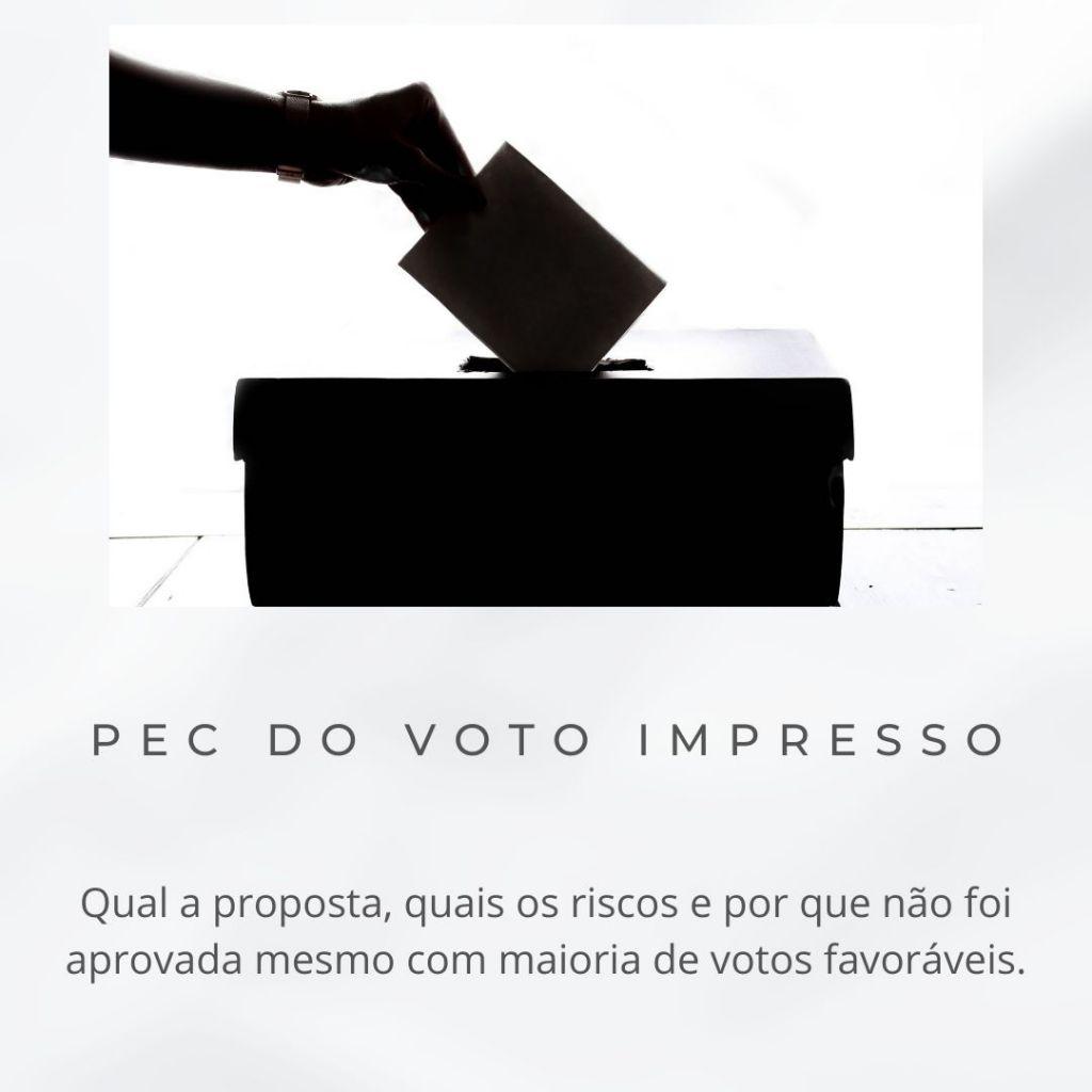 PEC DO VOTO IMPRESSO